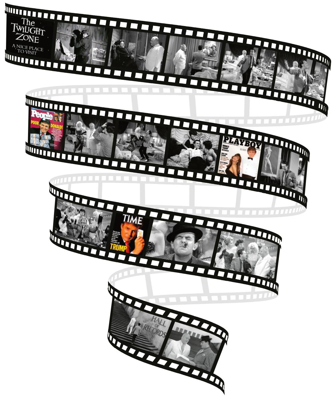 Filmstrip 'The Twilight Zone'