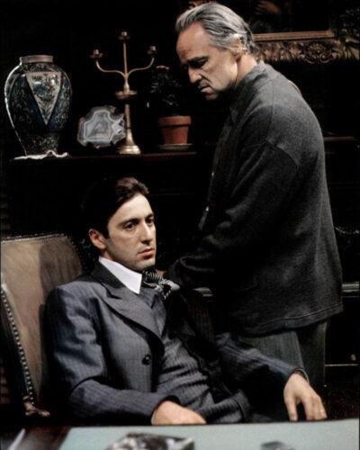 michael and vito corleone